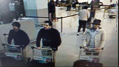 The three suspects that were the cause of this horrific attack. Photo @CNN