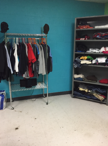 New Items at the closet. Photo courtesy of Lisa Hall