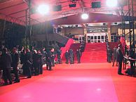 The Cannes Film Festival's Red Carpet. Photo Credit to anonymous source via Wikimedia Commons.