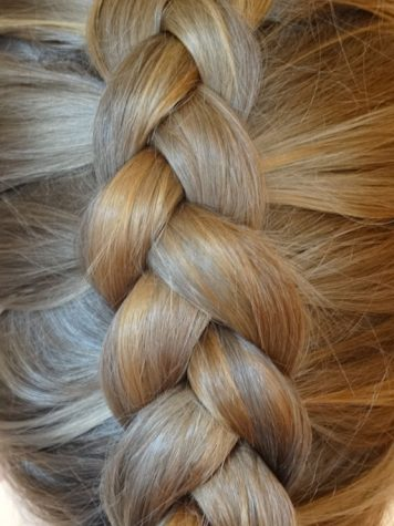 Here is an example of a dutch braid. To get a pigtail dutch braid, split your hair in a middle part and dutch braid both sides.