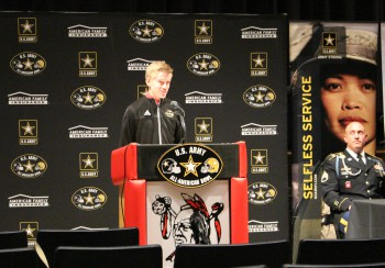Julien Sherman Accepted into U.S. Army All-American Marching Band