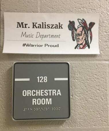Mr. Kaliszak Returns to High School