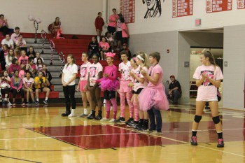 The Prince of Pink, Matthew Keuler, was announced during the game.