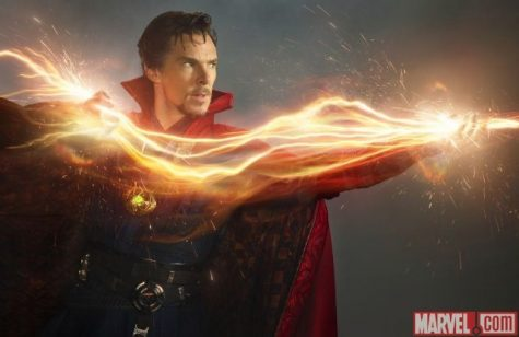 Doctor Strange performs new forms of magic to fight off against the antagonists of the film. Photo from Flickr.
