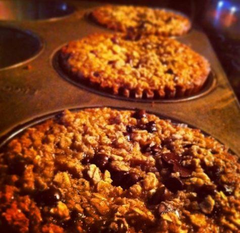 Senior Mackenzie Gibson loves to make baked goods during the holiday season. Photo by Mackenzie Gibson.