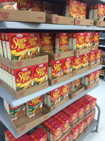 Stores are stocked with stuffing. Grab yours while it lasts. Photo by Emily Christian.