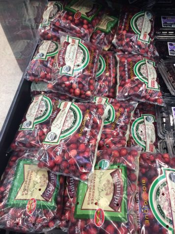 You can't make cranberry sauce without cranberries. Photo by Emily Christian.