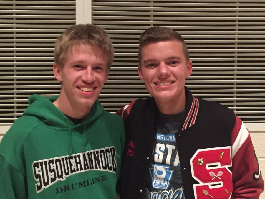 Paules and Sherman both have had previous experience with PMEA before this year's district choir.
