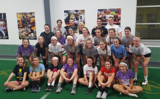 The+Girls+Lacrosse+team+prepared+for+the+season+by+doing+drills%2C+running+and+team+bonding+activities.+