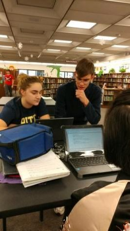 NHS Students Launch After-School Tutoring