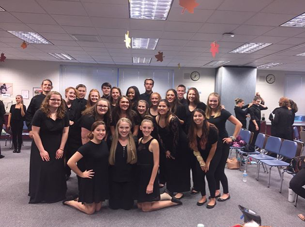 Senior+choir+students+performed+at+one+of+their+last+concerts+in+October+of+2016.+