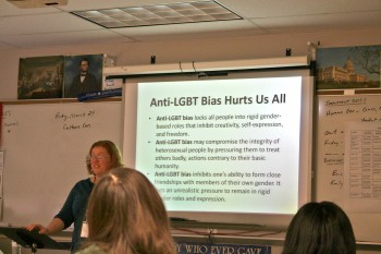 Students who chose to take the gender and orientation education workshop learned about the LGBTQ+ community and issues surrounding it as well.