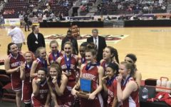 Lady Warriors Win First District Title in School History