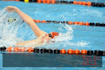 "Swimmer Logan McFadden Spreads his ""Wings"""