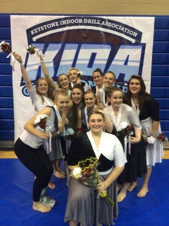 Indoor Guard Ends Season