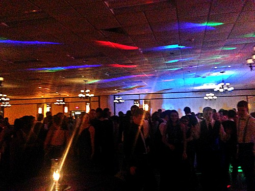 Prom this year took place at the Wyndham Garden Hotel in York, PA. This allowed the prom ticket price to go down $20.