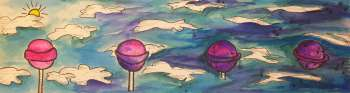"""Lollipop Galaxy"" by: Taylor Stenley"