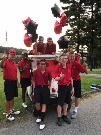 Golf Team Tees Off Undefeated Season