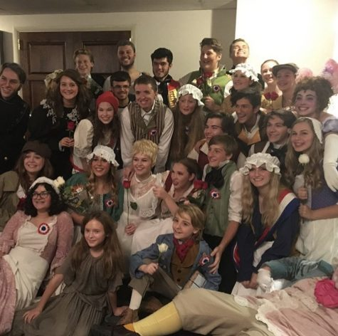 Students Star in Belmont Theatre's 'Les Miserables'