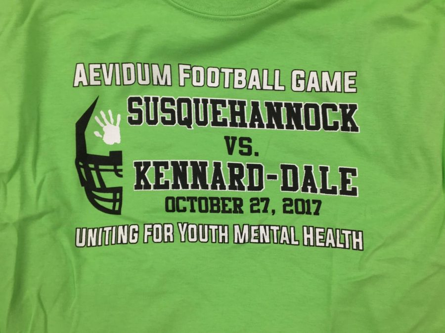 Aevidum+green-out+shirt+design