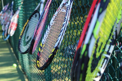 Girls Tennis Prepares for Counties