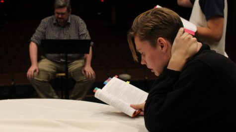 Theatre Cast Prepares for 'The Matchmaker'