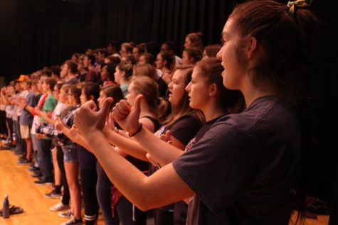 Concert Choir and Chanticleer Present Annual 'Night of Broadway""