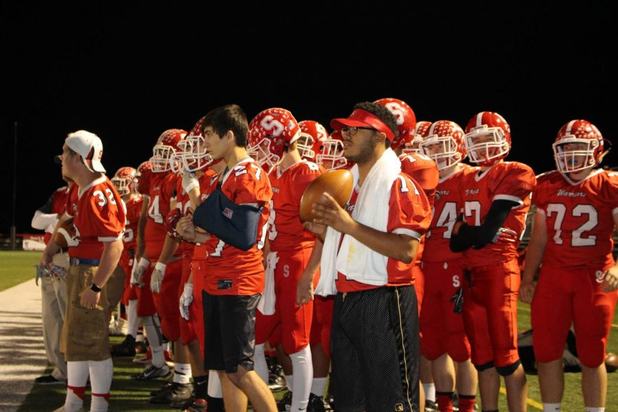 Susquehannock watches the play of the game carefully and hope for the game to go their way.