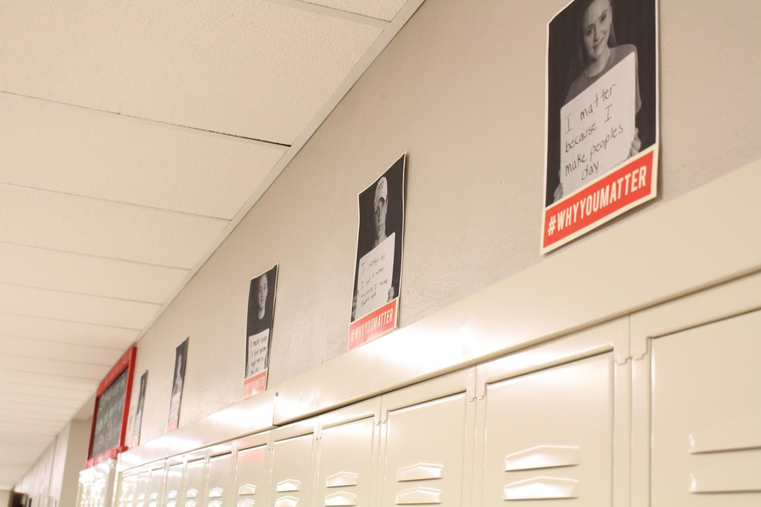 Each student's individual picture hangs in the halls, showing what makes them important and unique.