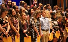 Students get Inducted into National Honors Society