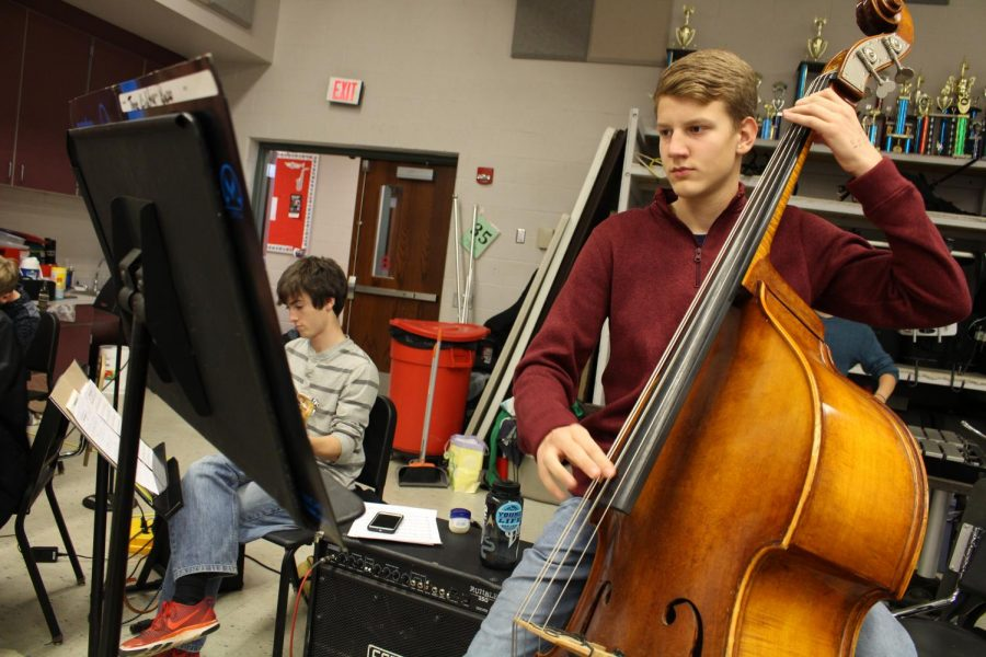 Students Audition for District Orchestra