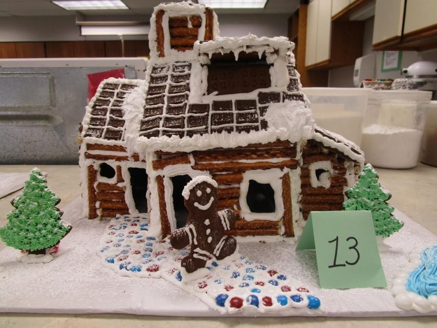 Students Compete in Gingerbread House Competition