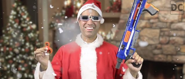 FCC Chief Commissioner Ajit Pai created a video trying to convince people that the internet will remain the same after net neutrality is repealed. Photo via The Daily Caller.