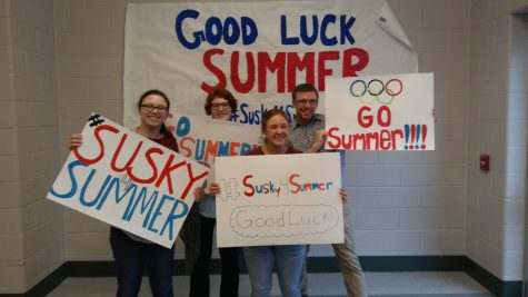 Susquehannock Shows Support for Olympian Summer Britcher