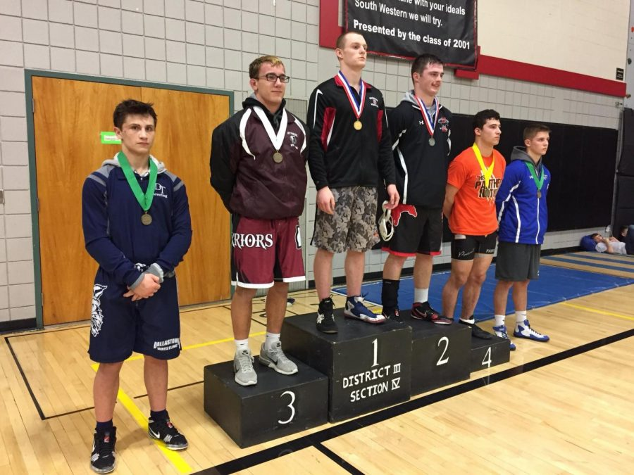 Wrestling Starters Succeed at Sectionals