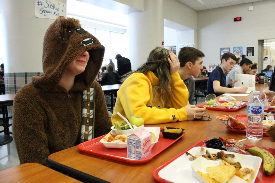 """""""Its a great way to show that you care about whats going on in your school, said Junior Ollie Timlin, and its a fun time to get to wear pajamas."""""""