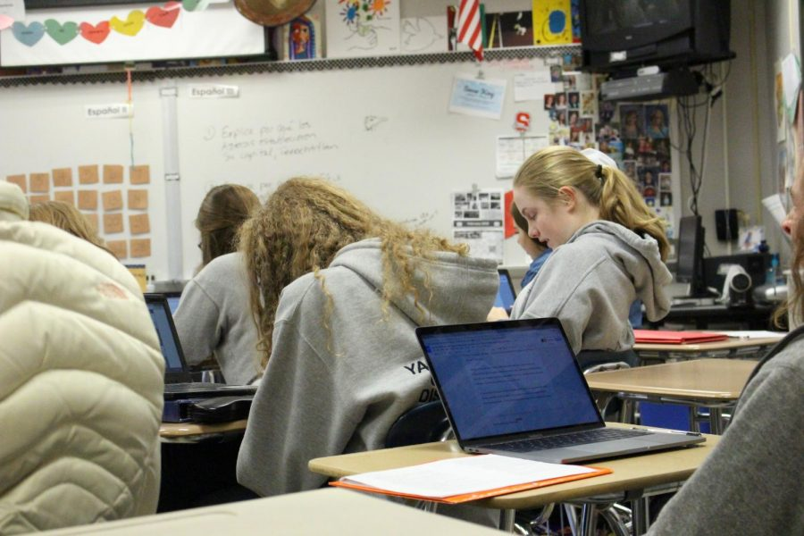 On Tuesday, students wore gray to raise awareness for brain cancer.