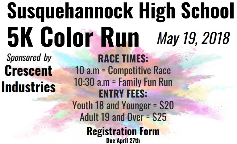 Student+Council+Prepares+for+Third+Annual+Color+Run