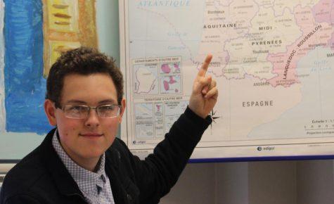 David Wentzel Wins Scholarship to Study Abroad