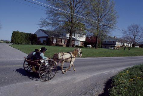 Amish Community Builds School in Glen Rock