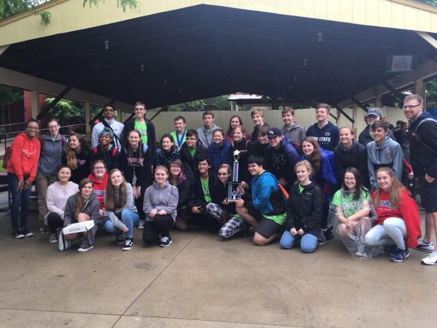 "Choir Students Participate in ""Music in the Parks"""