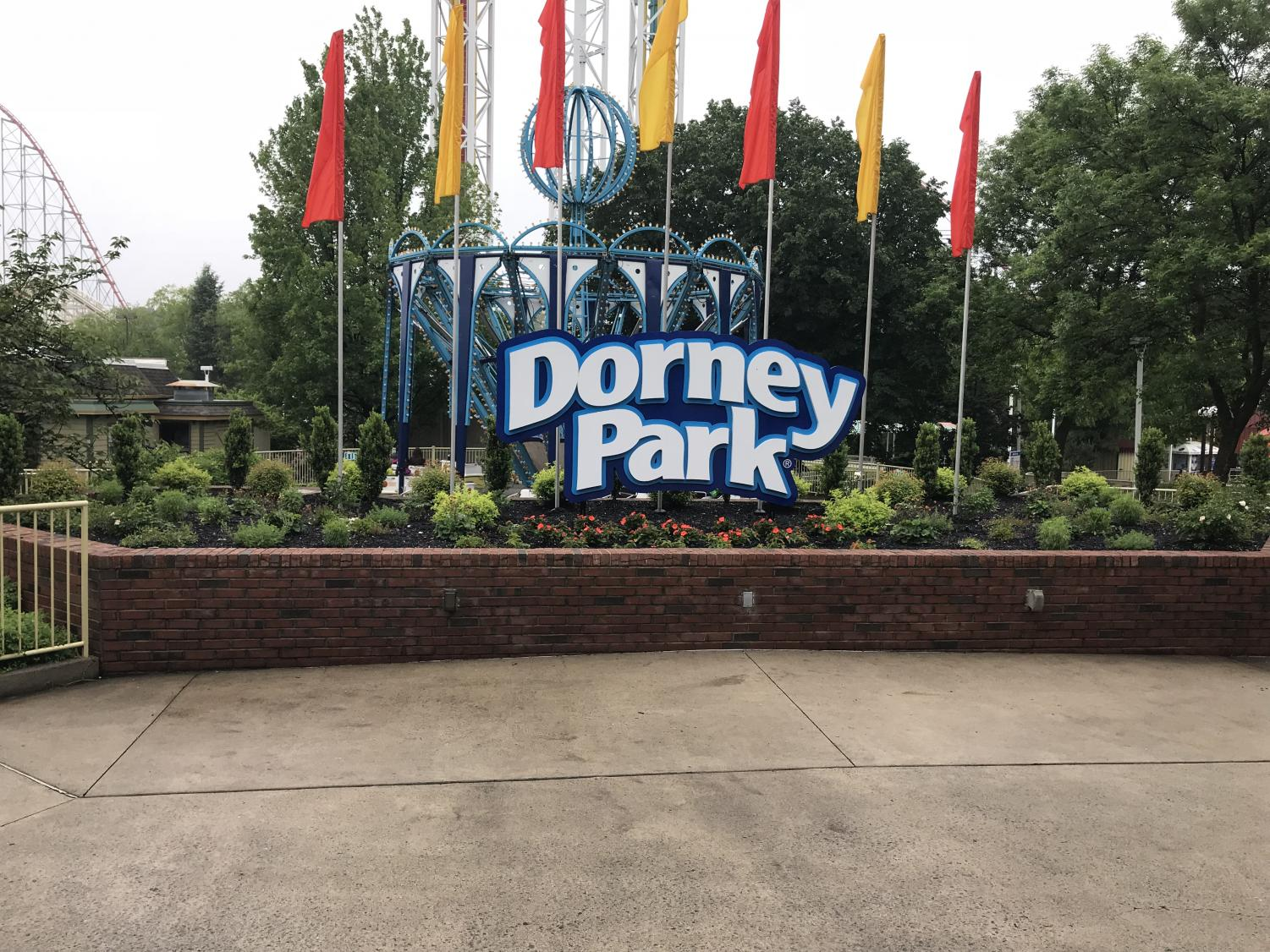 The front of the park is really a great side to behold.