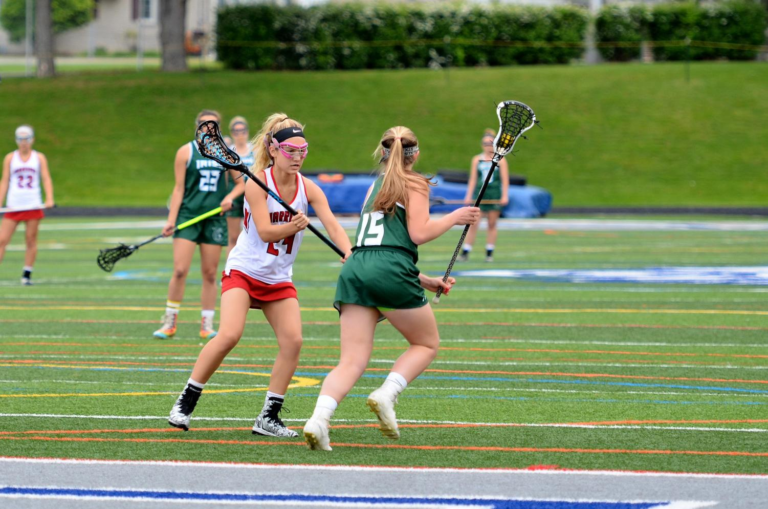 Hannah Mummert had a dominant senior year in lacrosse.