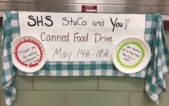 Student Council Holds Food Drive