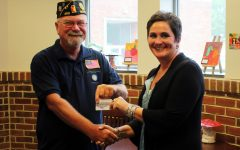 American Legion Austin L. Grove Post 403 Makes Donation to Help SYCSD Families