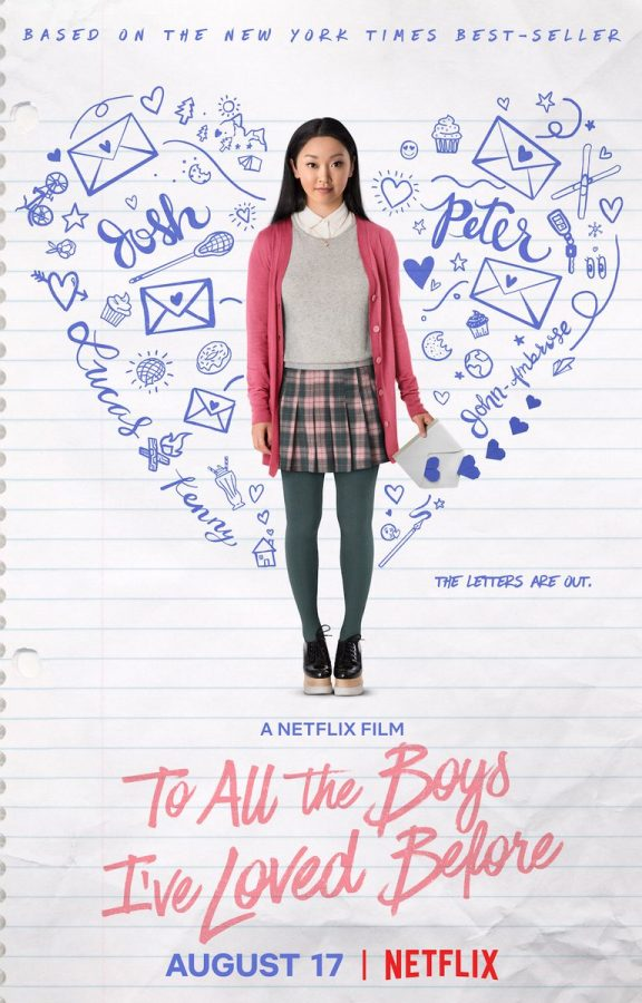 To All the Boys I've Loved Before is Netflix's summer hit.  Image from See What's Next on Twitter.
