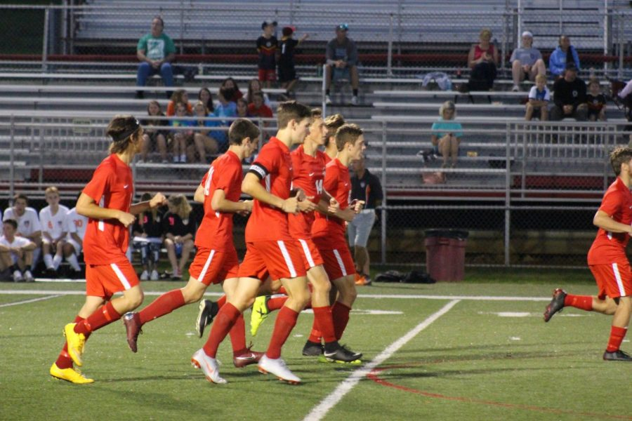 Susquehannock´s Boys Varisty Soccer team took the win on September 18.