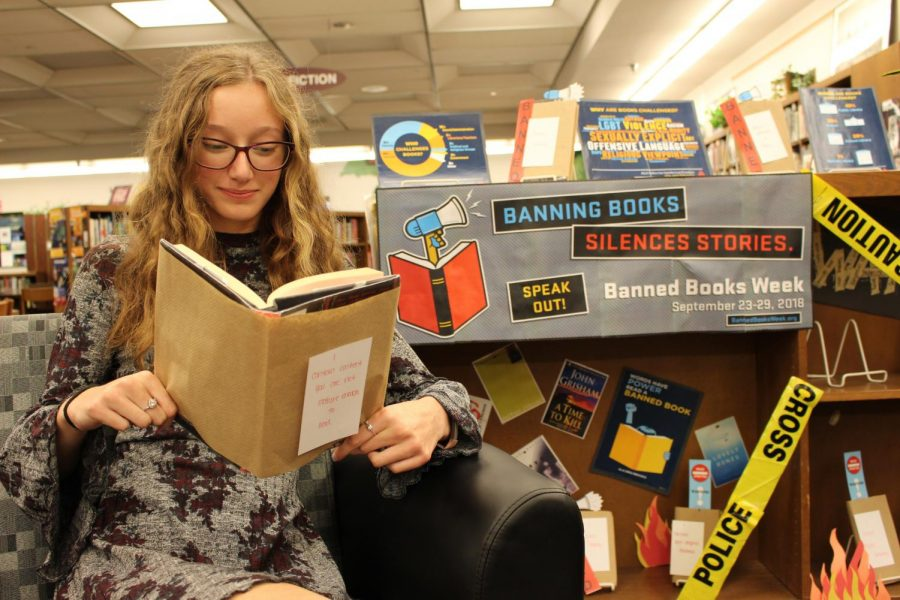 Susky Finds Appreciation for Literature during Banned Book Week