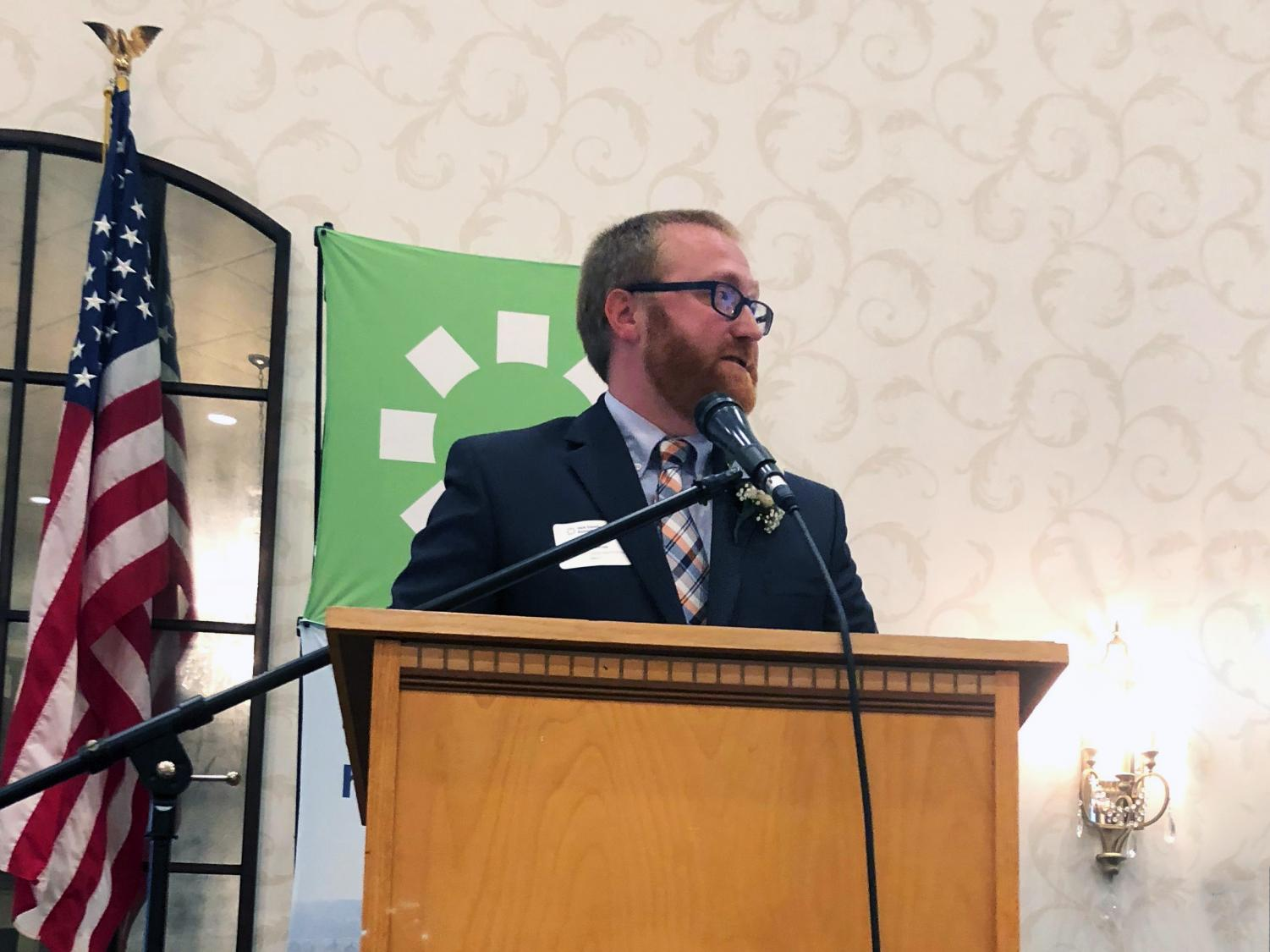 Susquehannock High School Assistant Principal James Sterner was recently named 'Education/Workforce Development Advocate of the Year' at the Spirit of York County Awards 2018.