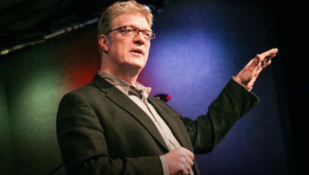 Sir+Ken+Robinson+during+his+TED+Talk+about+How+Schools+Are+Killing+Creativity